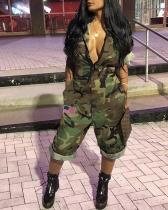Sexy Camouflage Jumpsuit