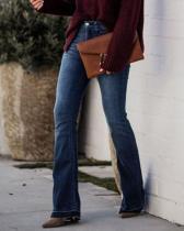 High Waist Vintage Flare Jeans
