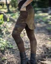 Cotton Blend Leisure Leggings Trousers