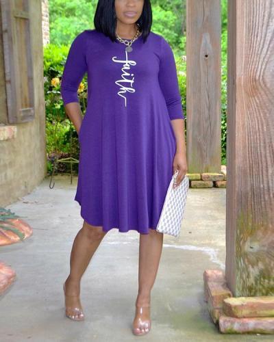 Faith Tee Dress