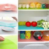 Refrigerator Mats Antibacterial Antifouling Mildew Moisture Absorption Pad