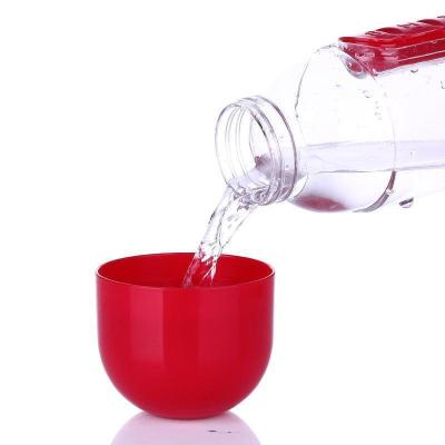 600ml Water Bottle Daily Pill Storage Organizer Box Outdoor Drinking Bottles Anti-leak Drinkware