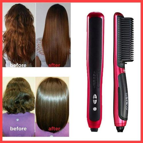50% OFF Hair Straightener Styling Comb