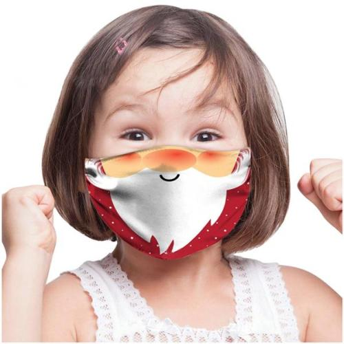 Children Christmas Cloth Face Mask