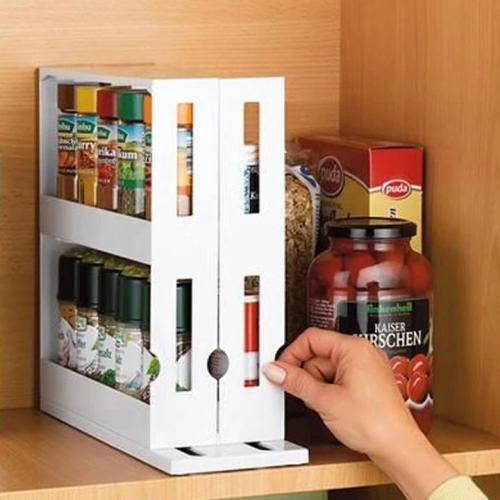 Multi-Function Rotating Storage Rack