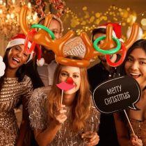 Christmas Reindeer Antler Ring Toss Game