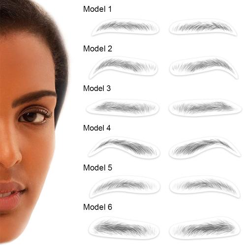4D Hair-like Eyebrows Tattoos