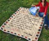 Hot Selling !  Letter Printed Blanket