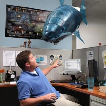 Super Cool Remote Large Flying Fish