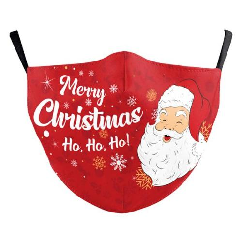 Christmas Style Printed Cloth Face Mask