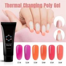 Thermal Changing Poly Gel