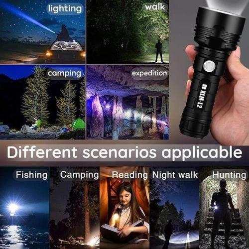 Enhanced multi-function flashlight