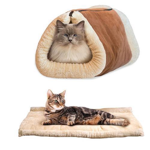 2-in-1 Cat Tunnel Mat