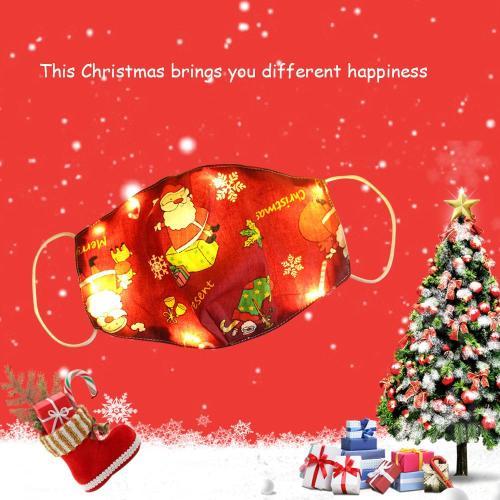 Funny LED Christmas Cloth Cover