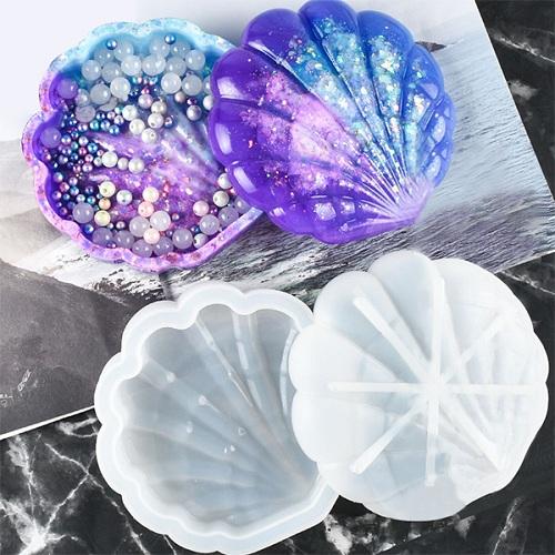 DIY Crystal Resin Molds Set