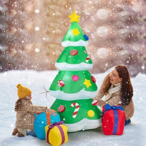 LED Giant Christmas Tree inflatable (US/EU PLUS)