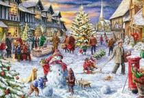 1000 Pieces White Christmas Puzzle