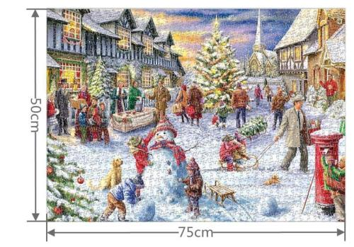 1000 Pieces White Christmas Puzzle