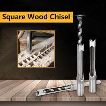 Square Wood Chisel Drill Tool (1SET)