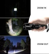High-Powered Tactical Flashlight
