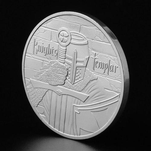 Medieval Cruiser Memorial Coin