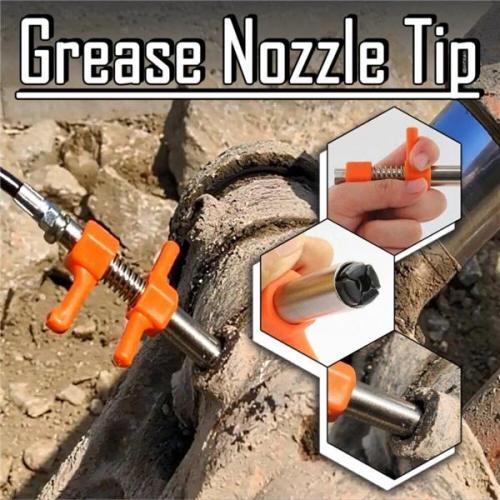 (Updated Generation)Ez-Pz Lube 10kPSI Lock Grease Coupler
