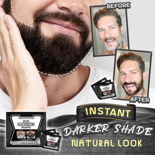 Herbal Beard Blackening Shampoo ♥️