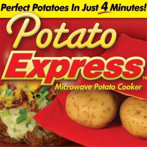 2pcs Microwave Potato Cooker Bag