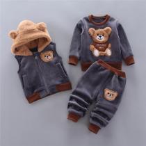 Kids Cozy Bear Set
