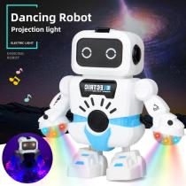 Electric Dancing Robot With Flashing LED