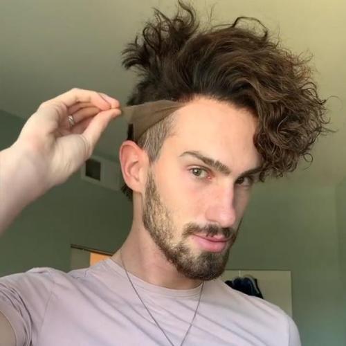 [ 2021 New Launch ] Men's wigs hair