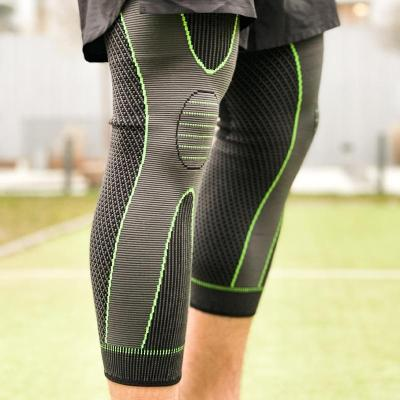Knee Compression Pad with Non- slip Bandage Strap