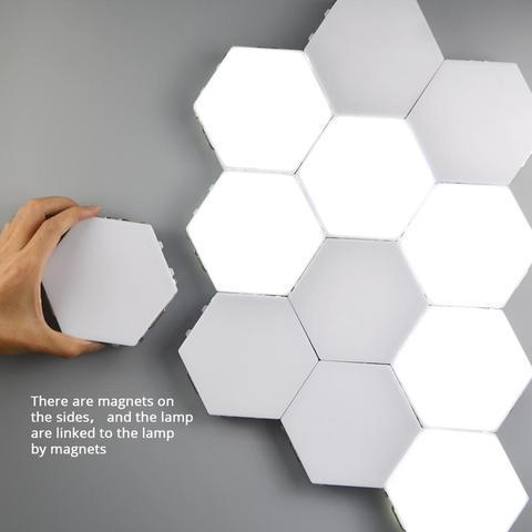 Modular Touch Lights-Creative Smart Touch LED Light Panel