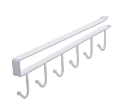 Under-Cabinet Hanger Rack (6 Hooks)