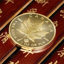 2020 & 2015 Canada $5 1/10-oz Gold Maple Leaf BU