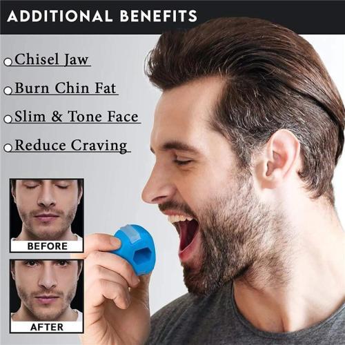 At-Home Natural Face Lift Exercise Ball
