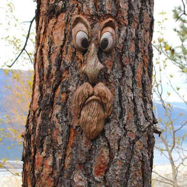 TREE FACE DECOR OUTDOOR