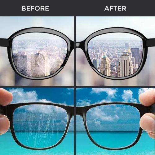 Portable Eyeglass Cleaning Kit