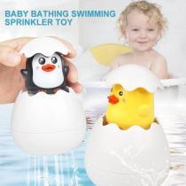 Easter Egg Baby Bathing Swimming Sprinkler Toy