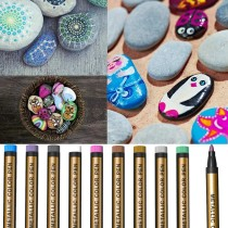 DIY Easter Eggs - Waterproof Paint Marker Pen(10-color suit)
