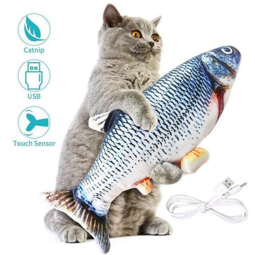50%-OFF😻Floppy Fishy-Electric fish toy🐟