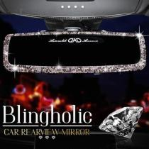 Blingholic Car Rearview Mirror