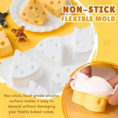 3D Cartoon Cheese Mold