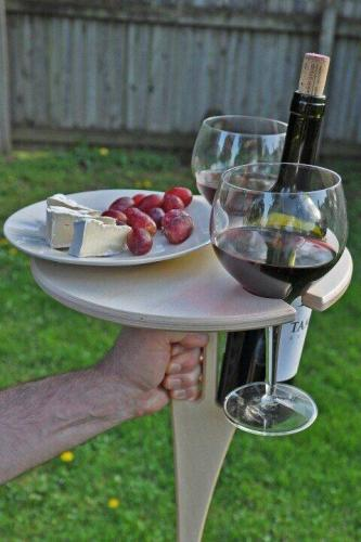 🔥Outdoor Portable Wine Table