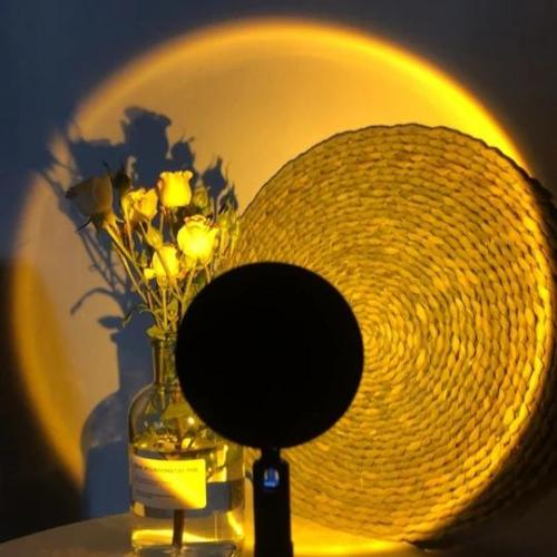 The Golden Hour Sunset Projection Lamp