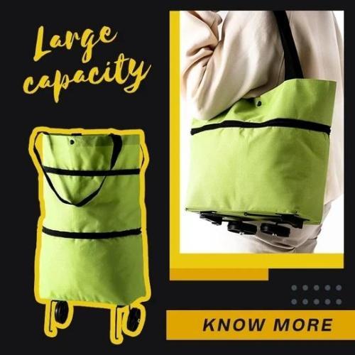 Foldable Shopping Cart Bag