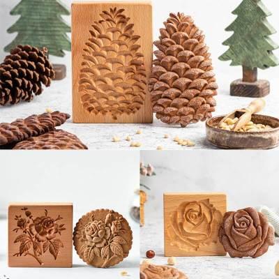 Cookie cutter Wooden Baking Mold