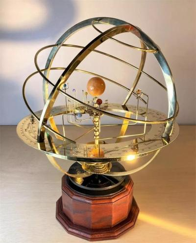 Grand Orrery Model of The Solar System