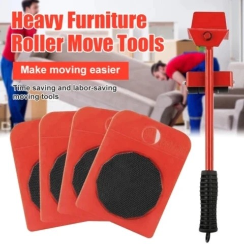 Portable Heavy Furniture Lifter Mover Furniture Set Tool Kits