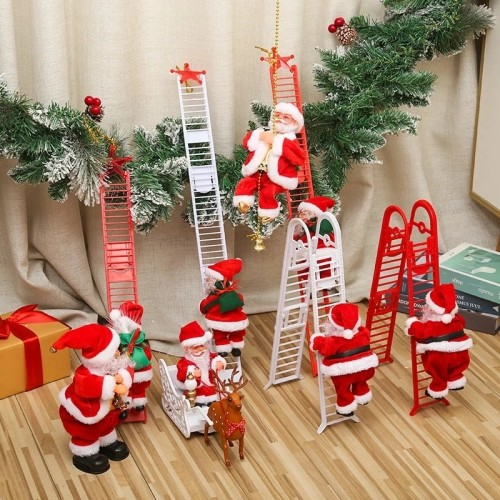 🎅🏻Christmas Sale!! Electric Climbing Santa